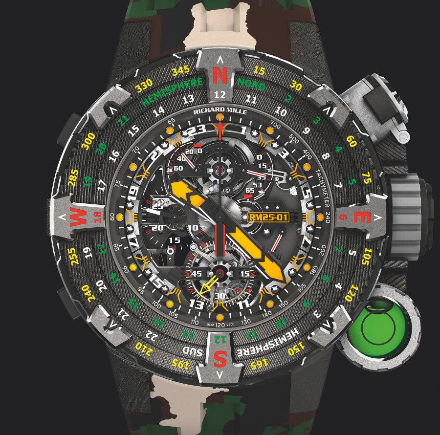 The New Richard Mille RM 25-01 Tourbillon Adventure Sylvester Stallone