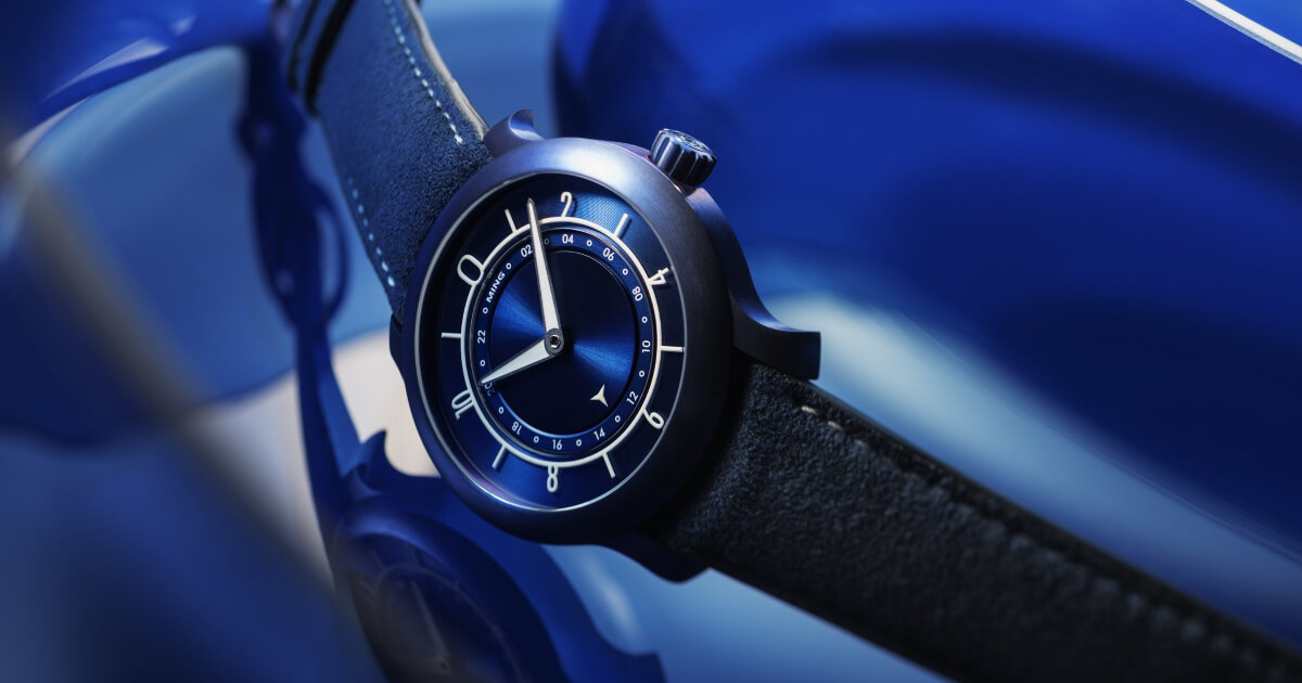 Ming 17.03 GMT - Ultra Blue Limited Edition (Technical Specifications and Price)