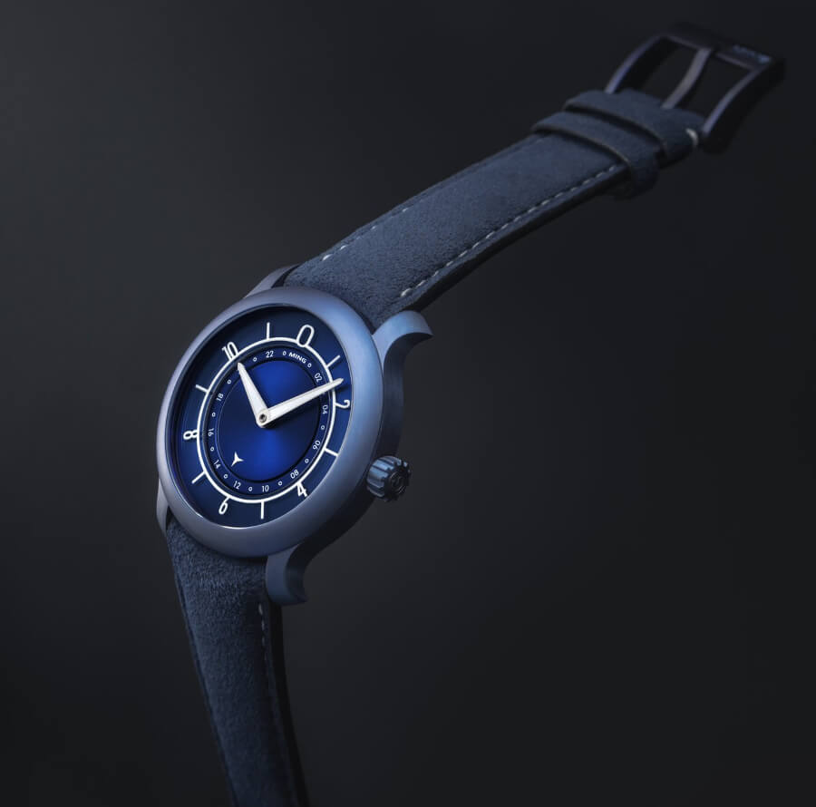 The New Ming 17.03 GMT - Ultra Blue Limited Edition