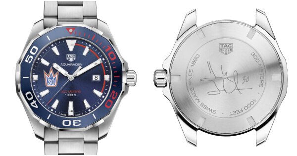 Tag Heuer Aquaracer Henrik Lundqvist Special and Limited Edition