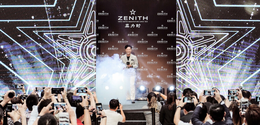 Eason Chan - the new Zenith Ambassador