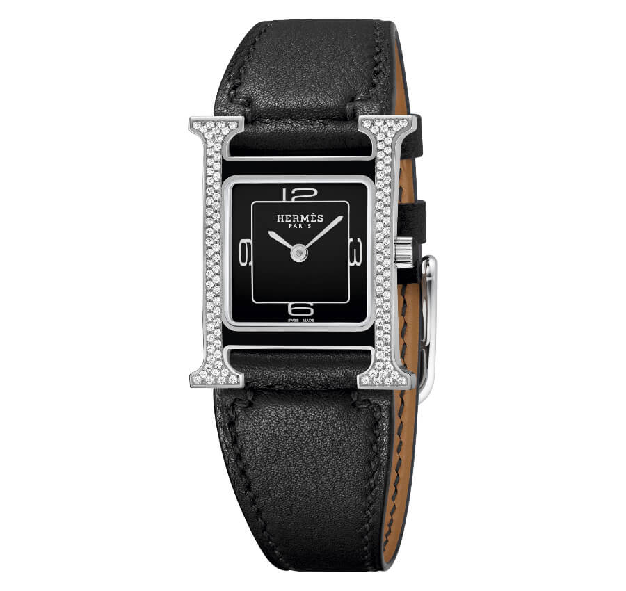 The New Hermes Heure H Double Jeu vertical setting