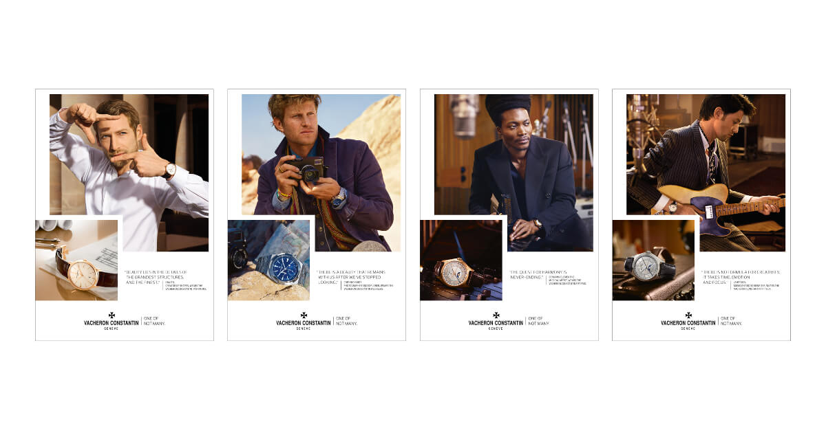 Vacheron Constantin unveils its new communications campaign