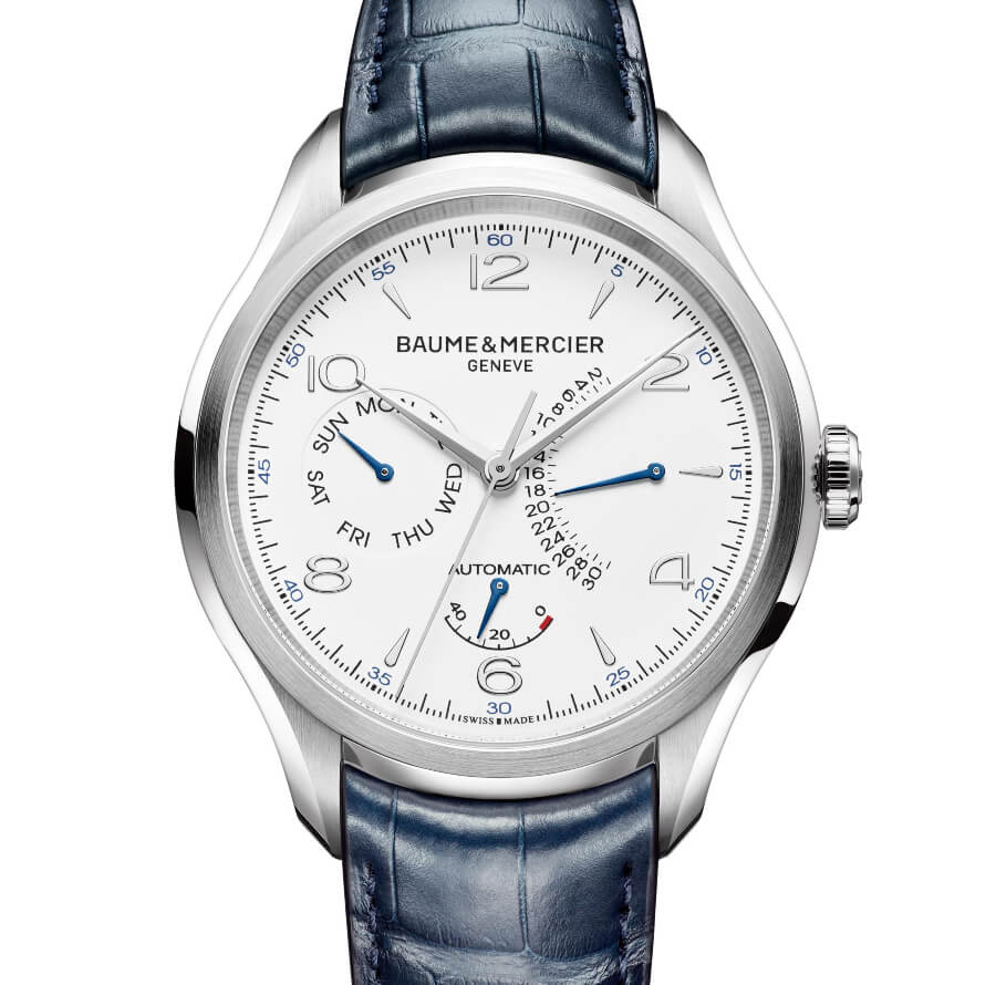 Baume & Mercier Clifton – Power Reserve, Retrograde Day And Date