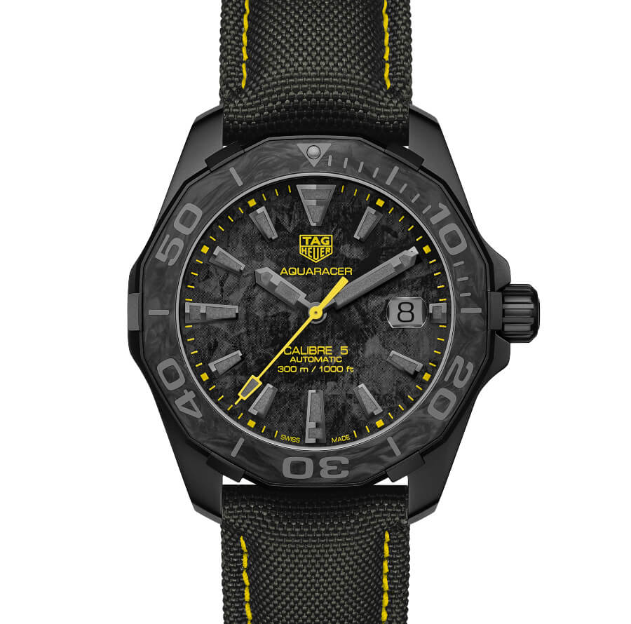 The New TAG Heuer Aquaracer Carbon