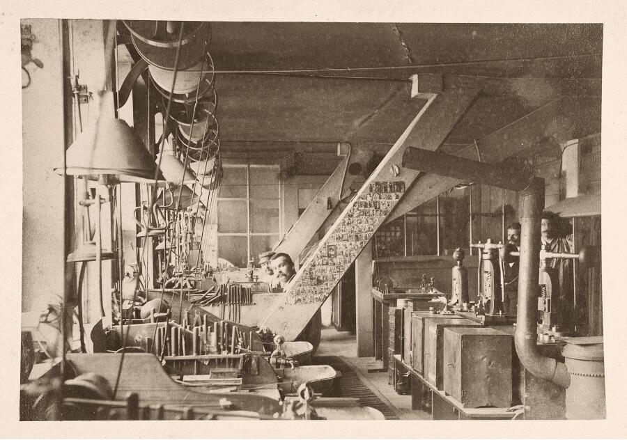 Vacheron Constantin Workshops 1900