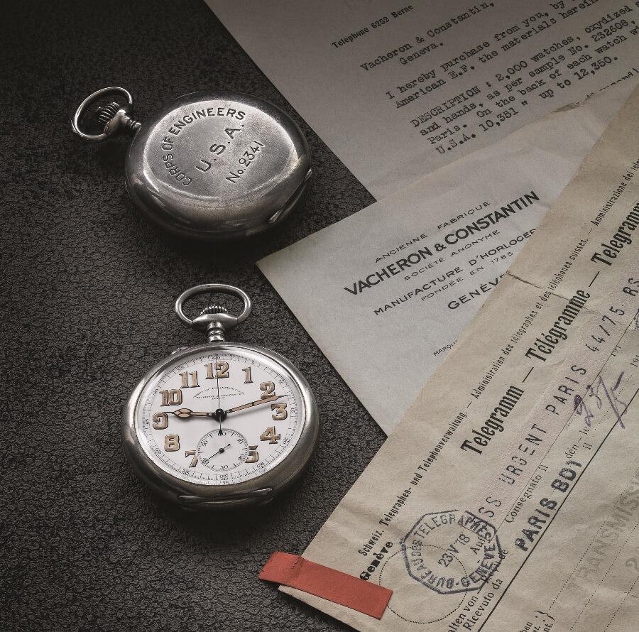 Vacheron Constantin Corps of engineers Pocket watch 1918