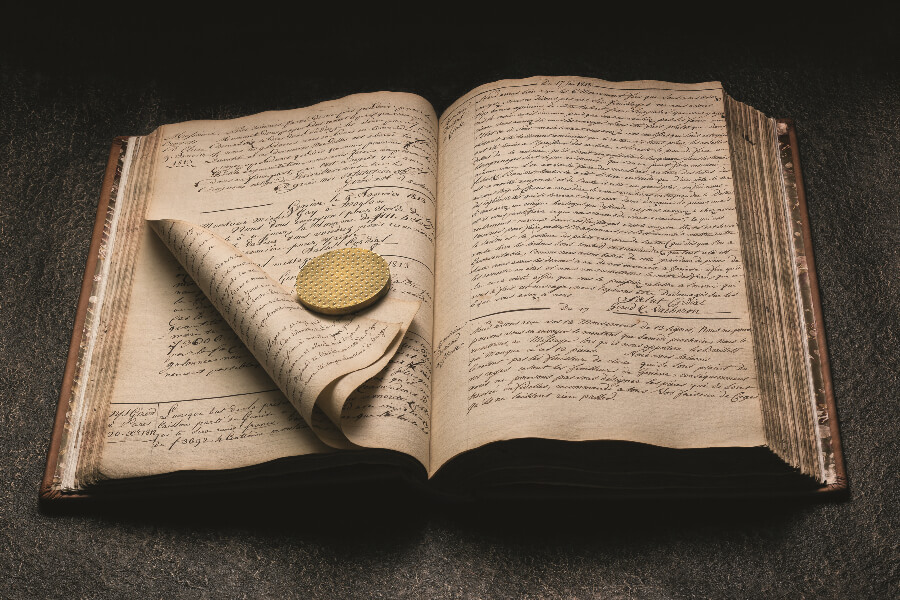 Vacheron Constantin Correspondence Register 1812