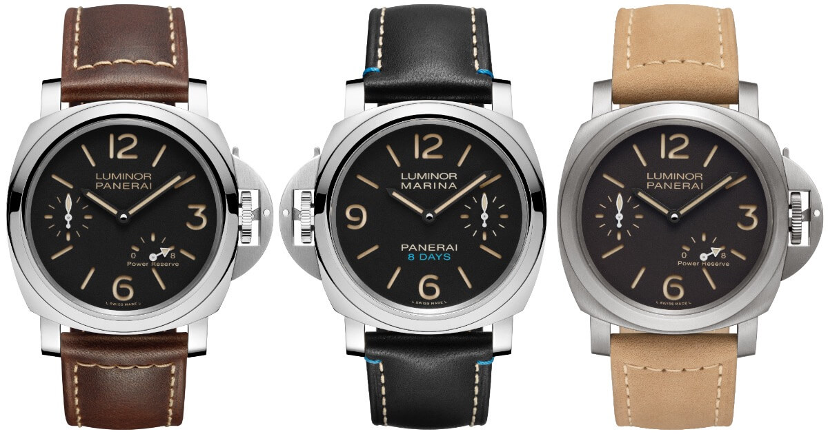 Panerai Luminor 8 Days (Prices and Technical Specifications)