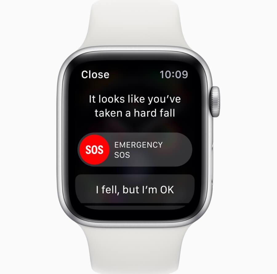 Apple Watch Series 4 Emergency SOS