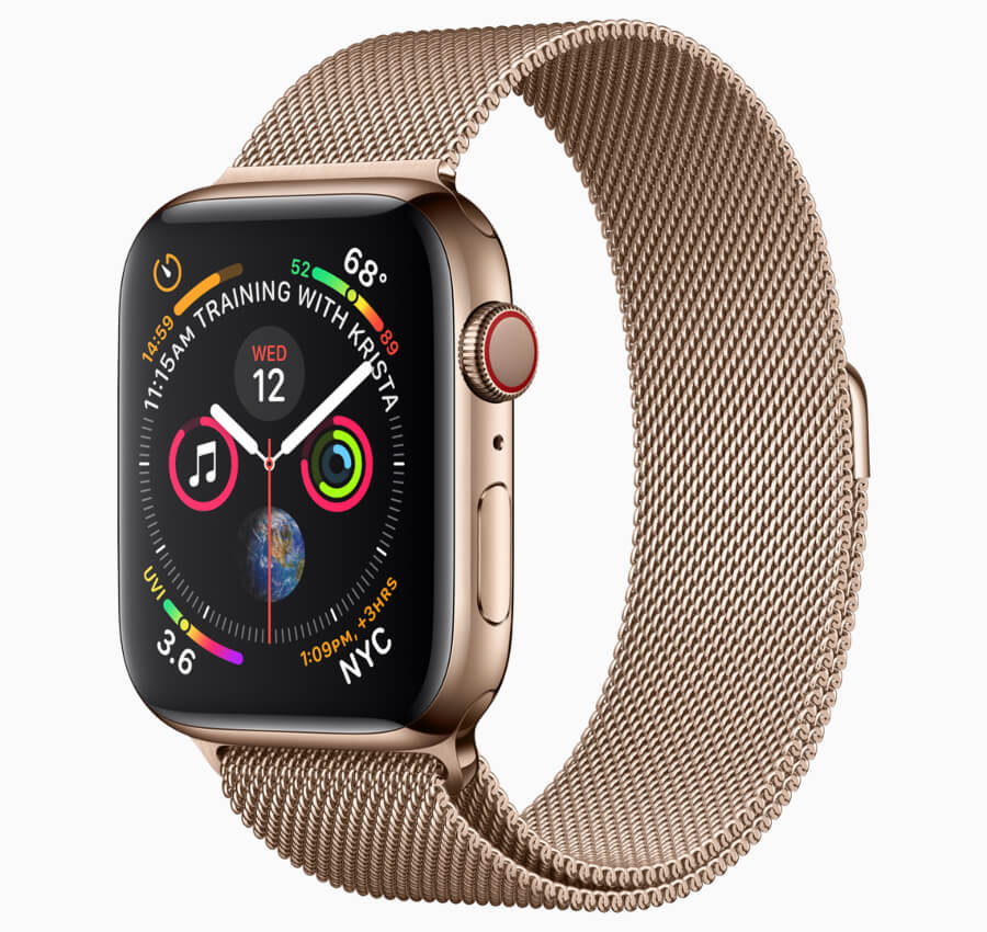 Apple Watch Series 4 Milanese band