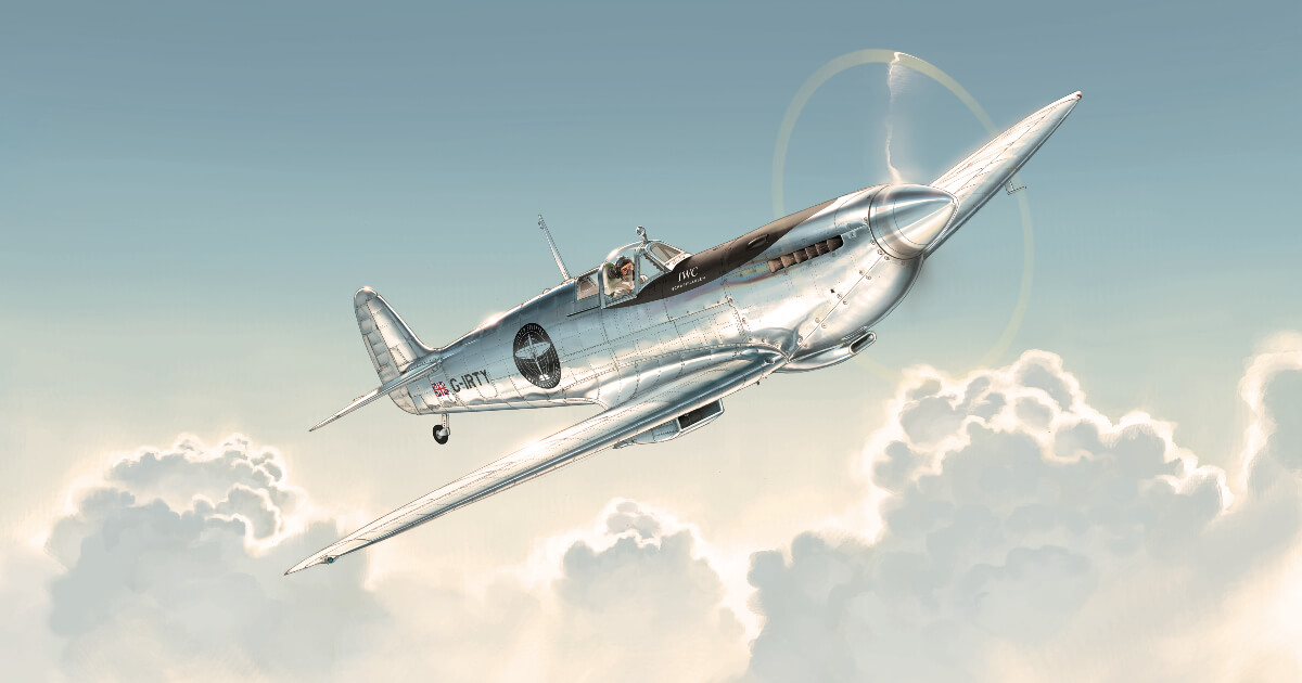 IWC Schaffhausen Supports The Silver Spitfire's Round-The-World Flight