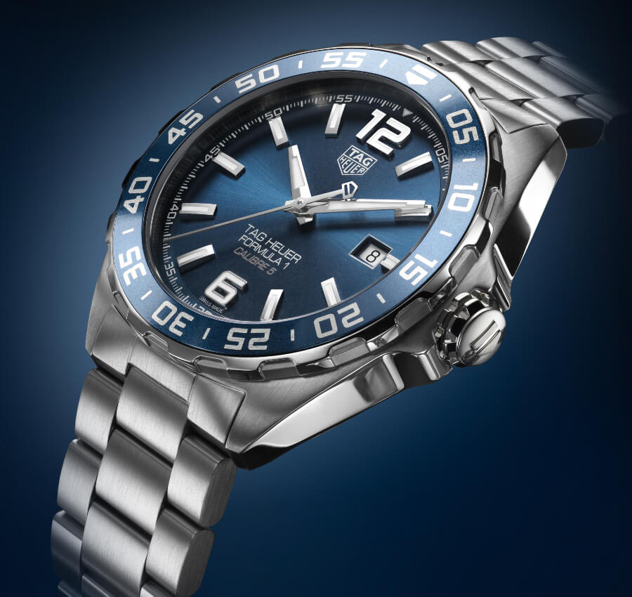 The New TAG Heuer Formula 1 Bucherer Blue Editions