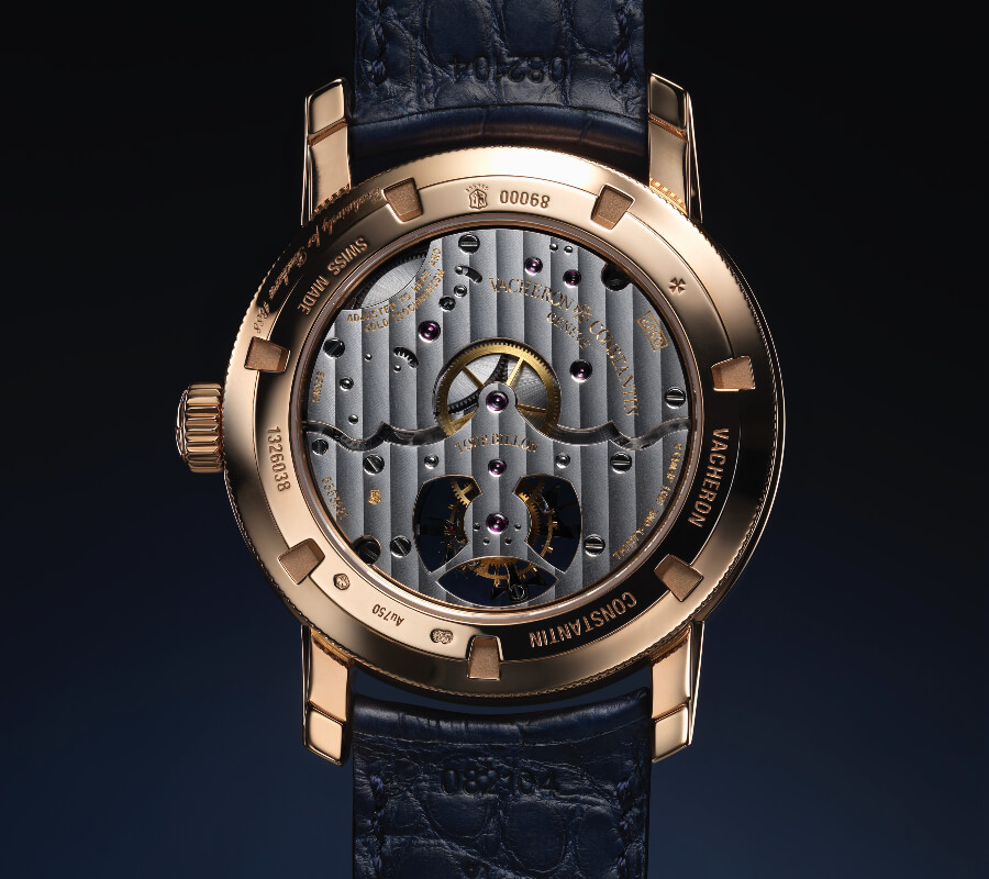Vacheron Constantin Traditionnelle 14-Day Tourbillon Bucherer Blue Editions Movement
