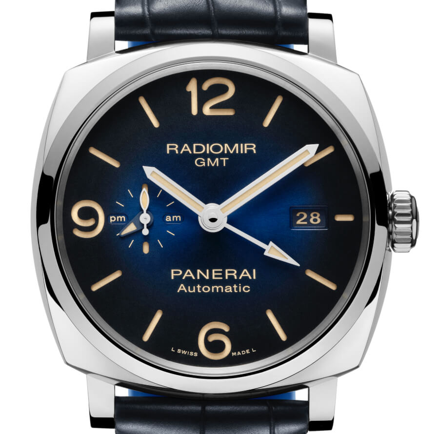 The New Panerai Radiomir 1940 3 Days Gmt Automatic Acciaio – 45mm