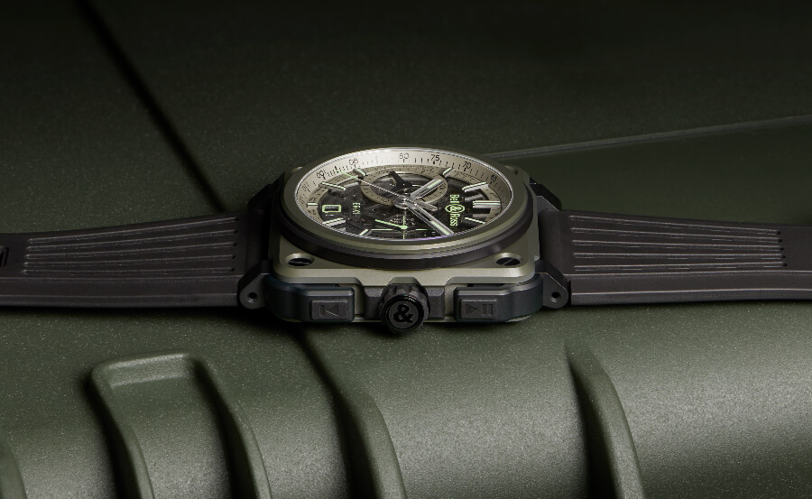 Bell & Ross BR-X1 Military Review