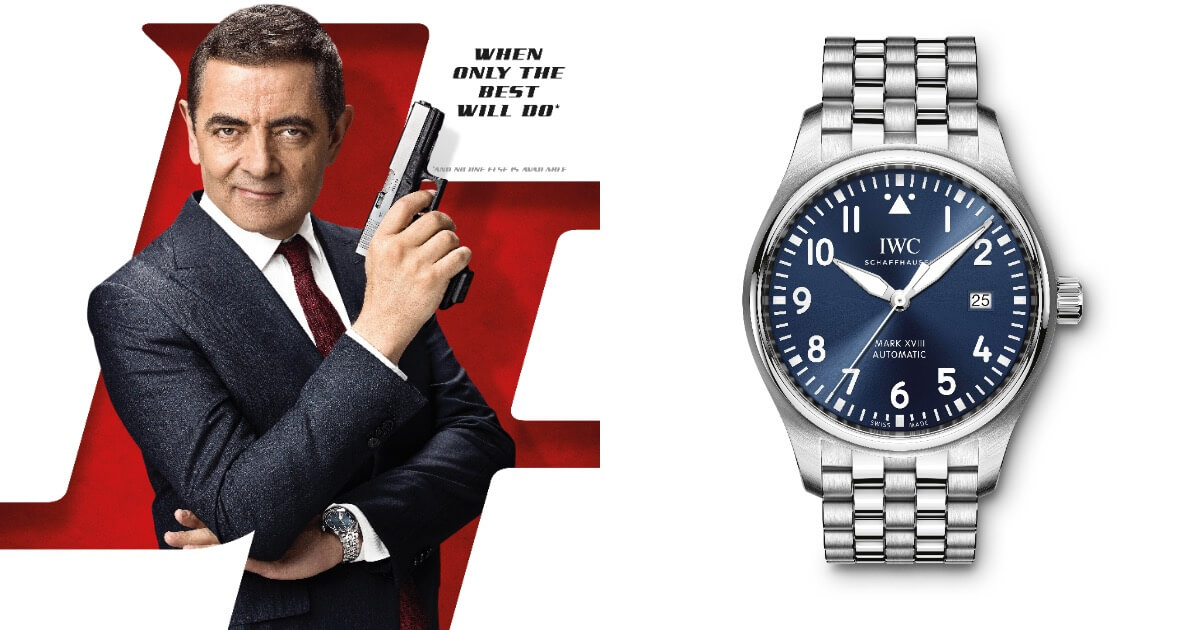 "Watch Spotting: Rowan Atkinson Wearing IWC Pilot's Watch Mark XVIII Edition ""Le Petit Prince"""