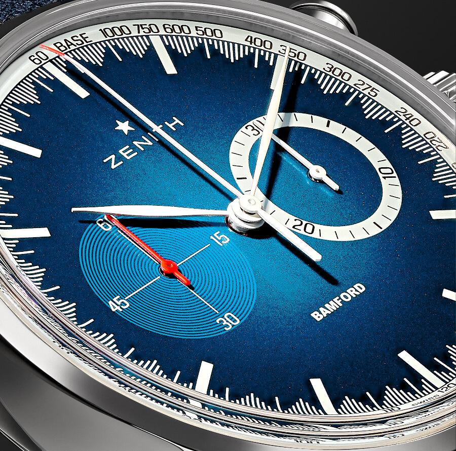 Chronograph Blue Dial