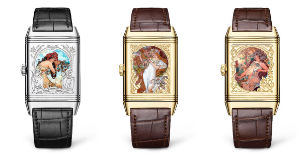 The New Jaeger-LeCoultre Reverso Tribute Enamel Alfons Mucha