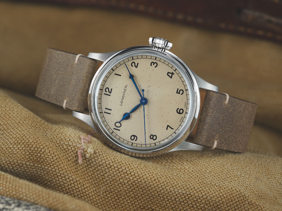 Longines Military Watch for sale