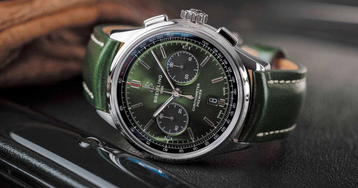 Breitling Premier B01 Chronograph 42 Bentley British Racing Green