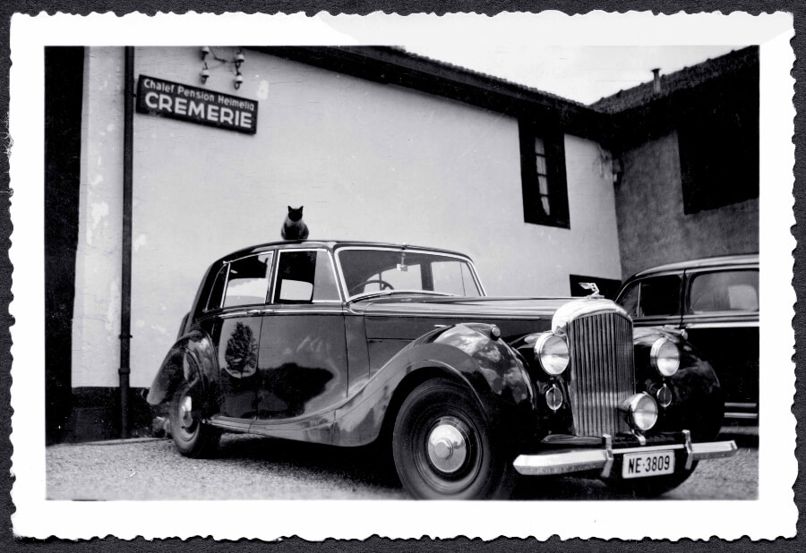 Willy Breitling s Bentley Mark VI early 1950s