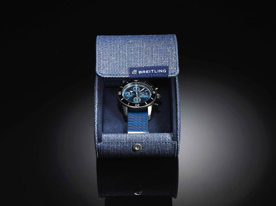 Breitling Superocean Héritage II Chronograph 44 Outerknown Presentation Box