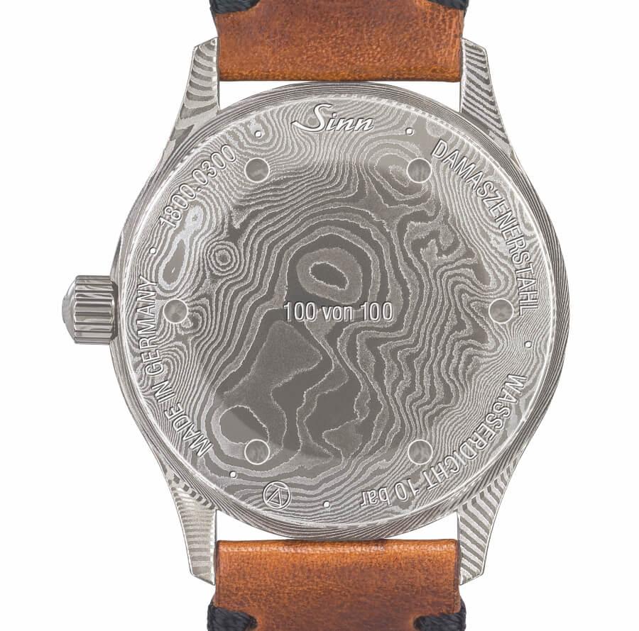 Sinn Watch 1800 Damaszener