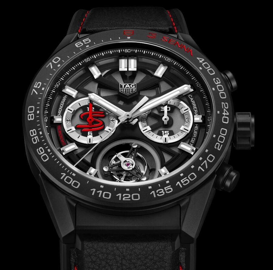 The New TAG Heuer Carrera Heuer 02 Tourbillon Chronograph Chronometer