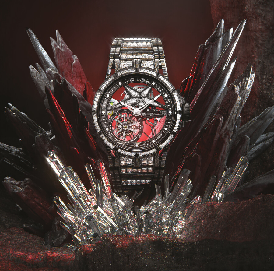 The New Roger Dubuis Excalibur Spider Ultimate Carbon
