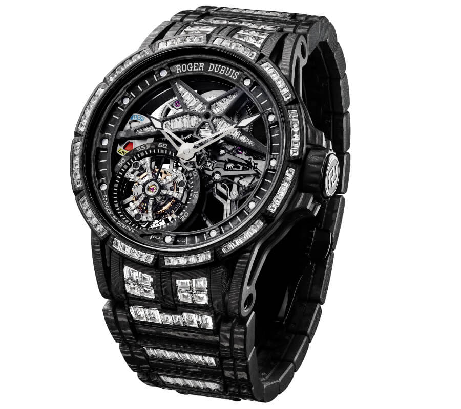 Roger Dubuis Excalibur Spider Ultimate Carbon Watch Review