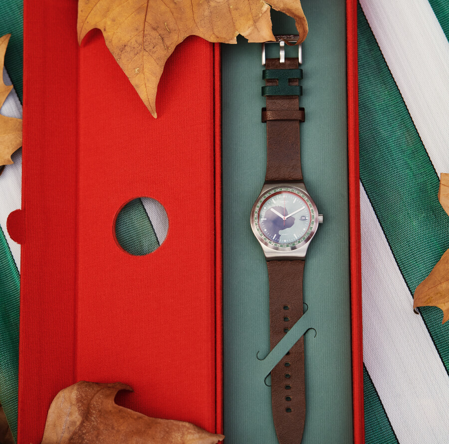 The New Swatch X Hackett Sistem 51 Irony