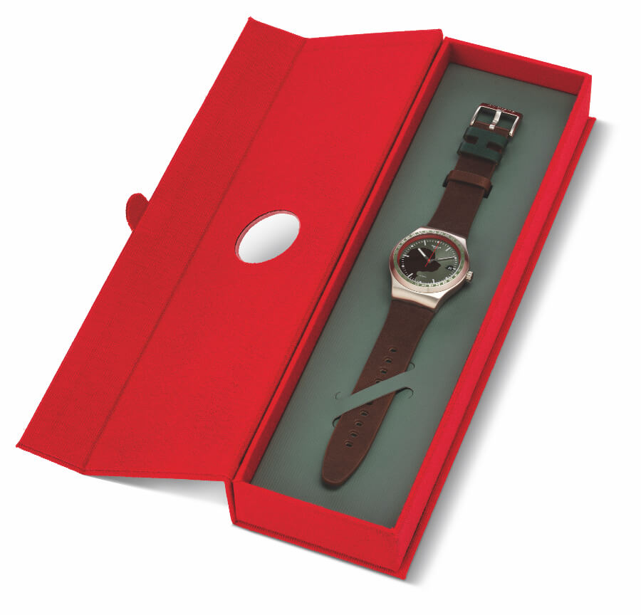 Swatch X Hackett Sistem 51 Irony Presentation Box