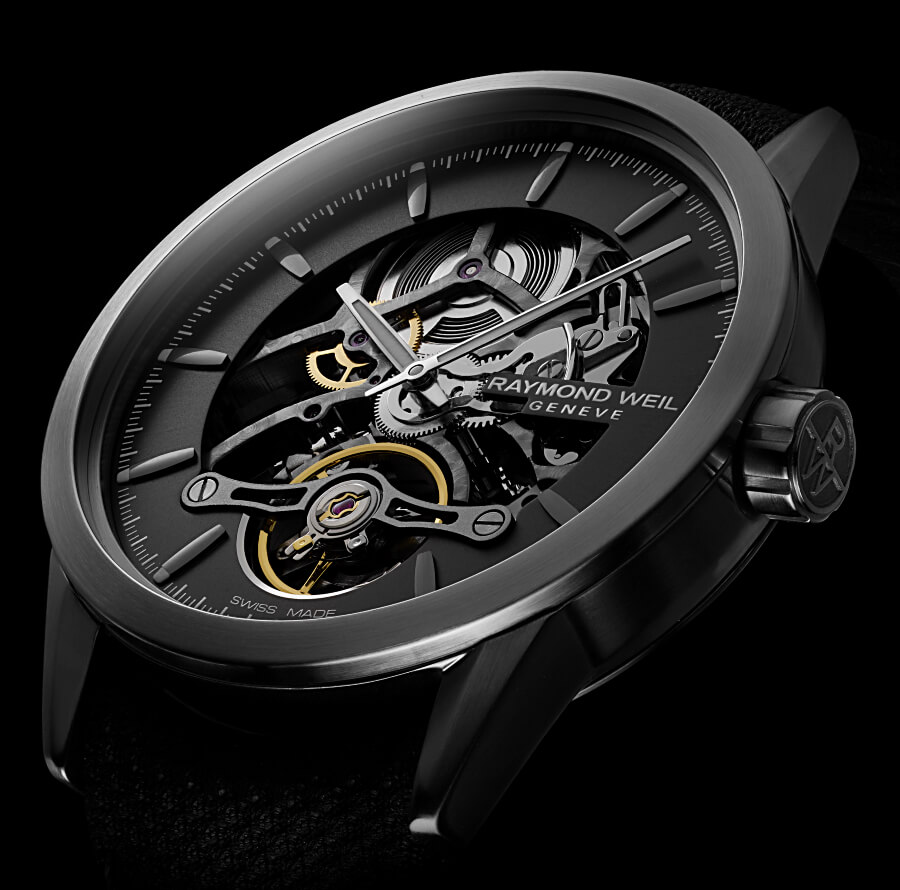 Raymond Weil Freelancer Calibre RW1212 Skeleton In House Movement