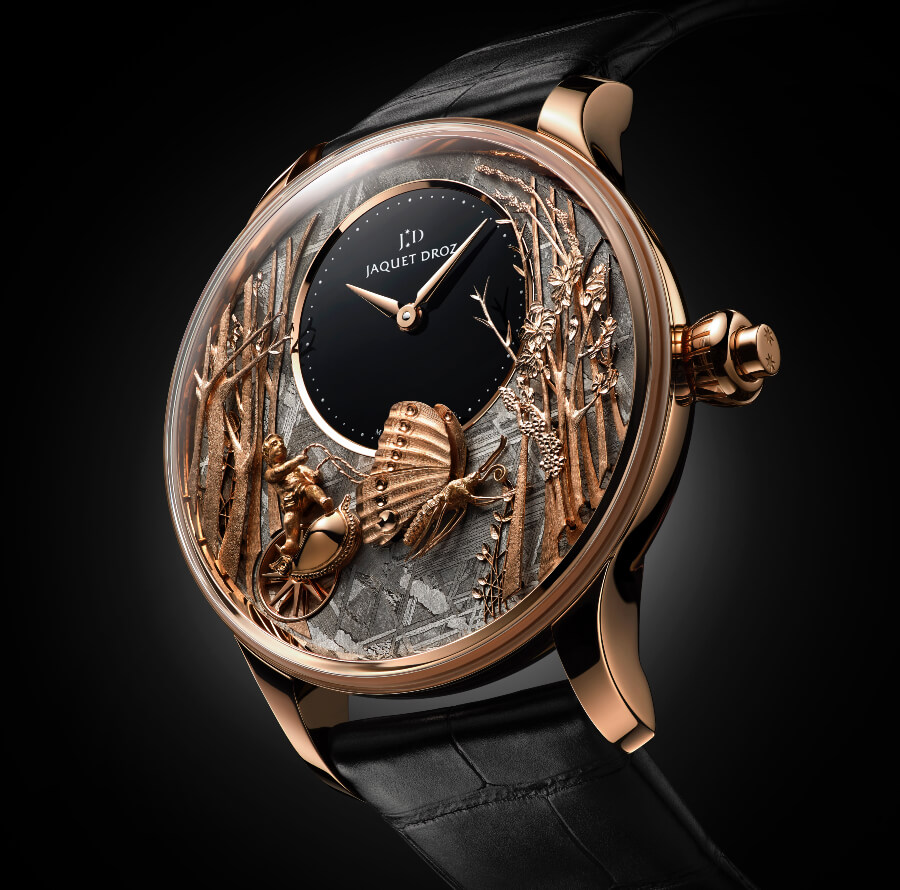 The New Jaquet Droz Loving Butterfly Automaton