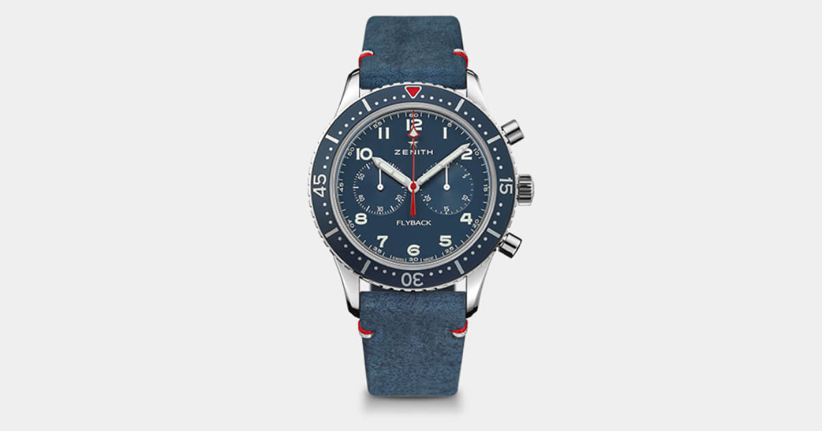 Zenith Pilot Cronometro Tipo CP-2 USA Edition (Pictures and Specifications)