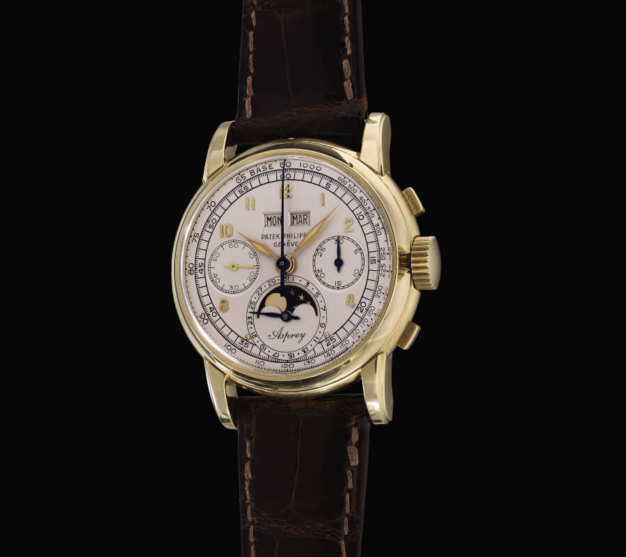 Patek Philippe Reference 2499 The Asprey