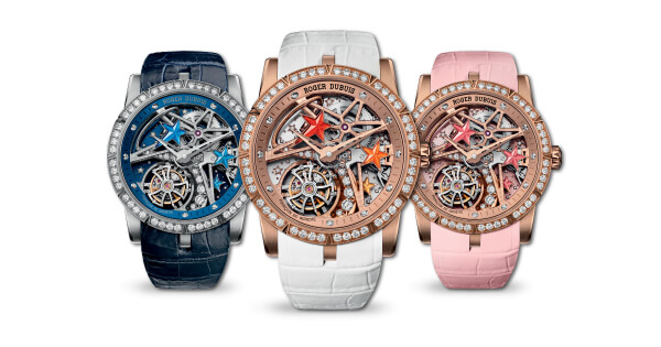 Roger Dubuis Excalibur 36 Shooting Star Timepiece