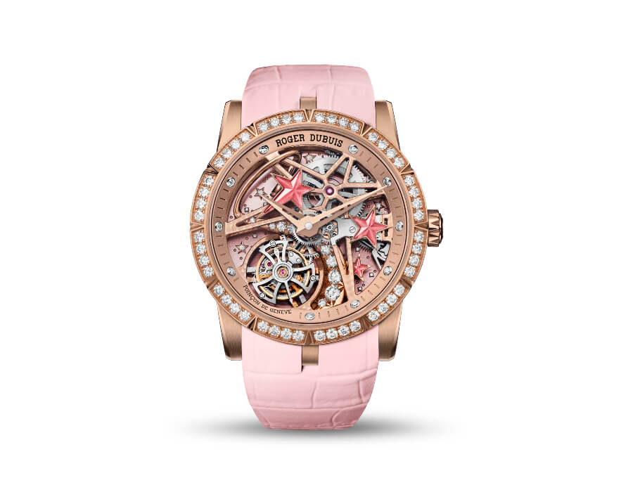 The New Roger Dubuis Excalibur 36 Shooting Star Timepiece