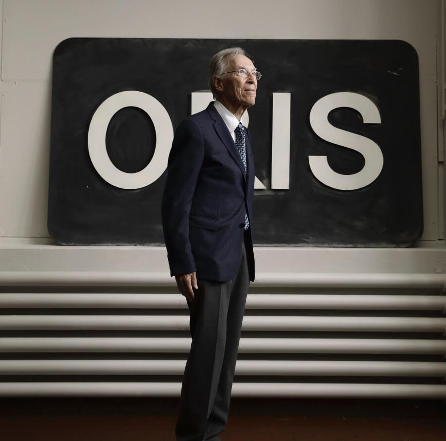 Oris's Honorary Chairman, Dr. Rolf Portmann