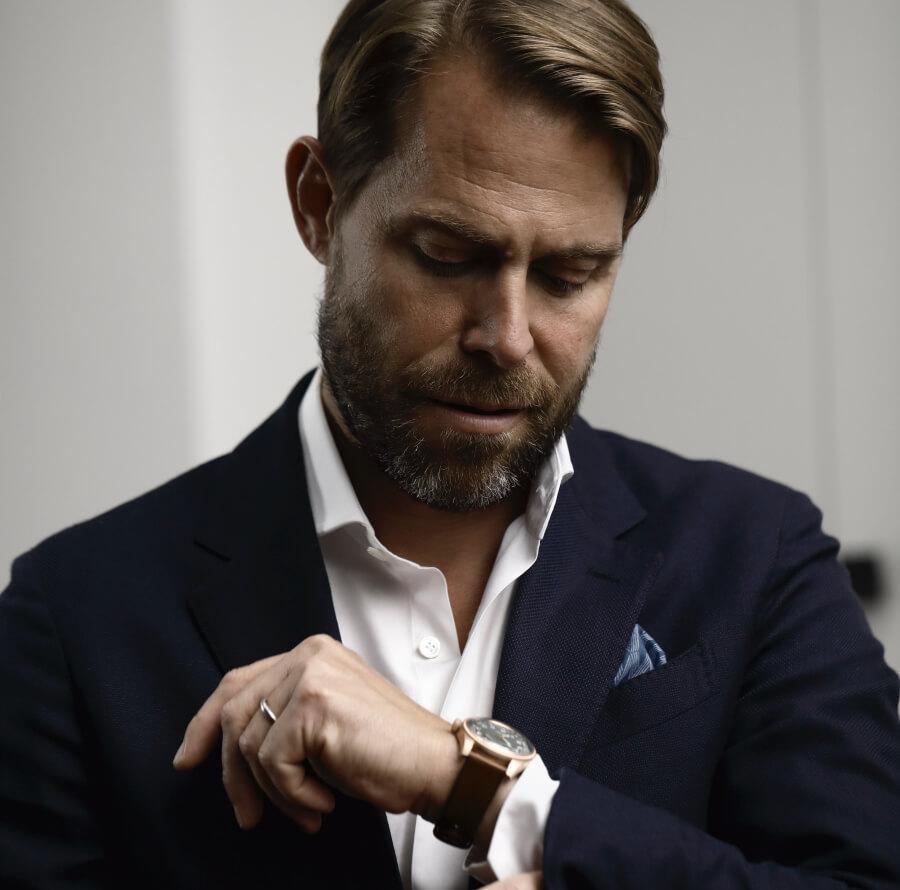 Oris's co-CEO Rolf Studer
