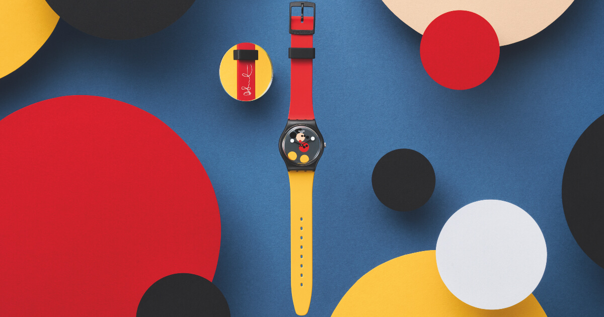 Swatch Spot Mickey and Mirror Spot Mickey (Pictures and Price)