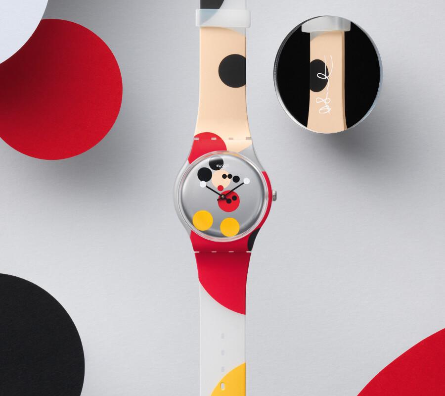 Swatch Mirror Spot Mickey
