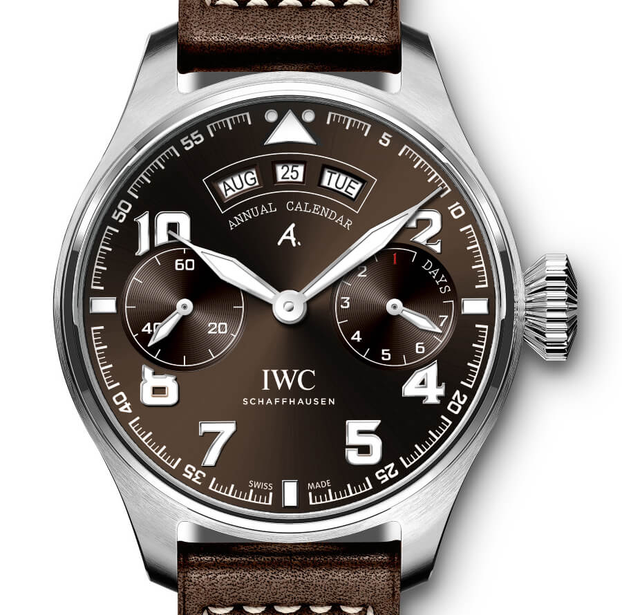 "The New IWC Big Pilot's Watch Annual Calendar Edition ""Antoine de Saint Exupéry"""