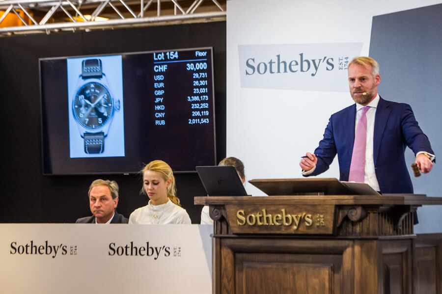 Sotheby's Auction in Geneva