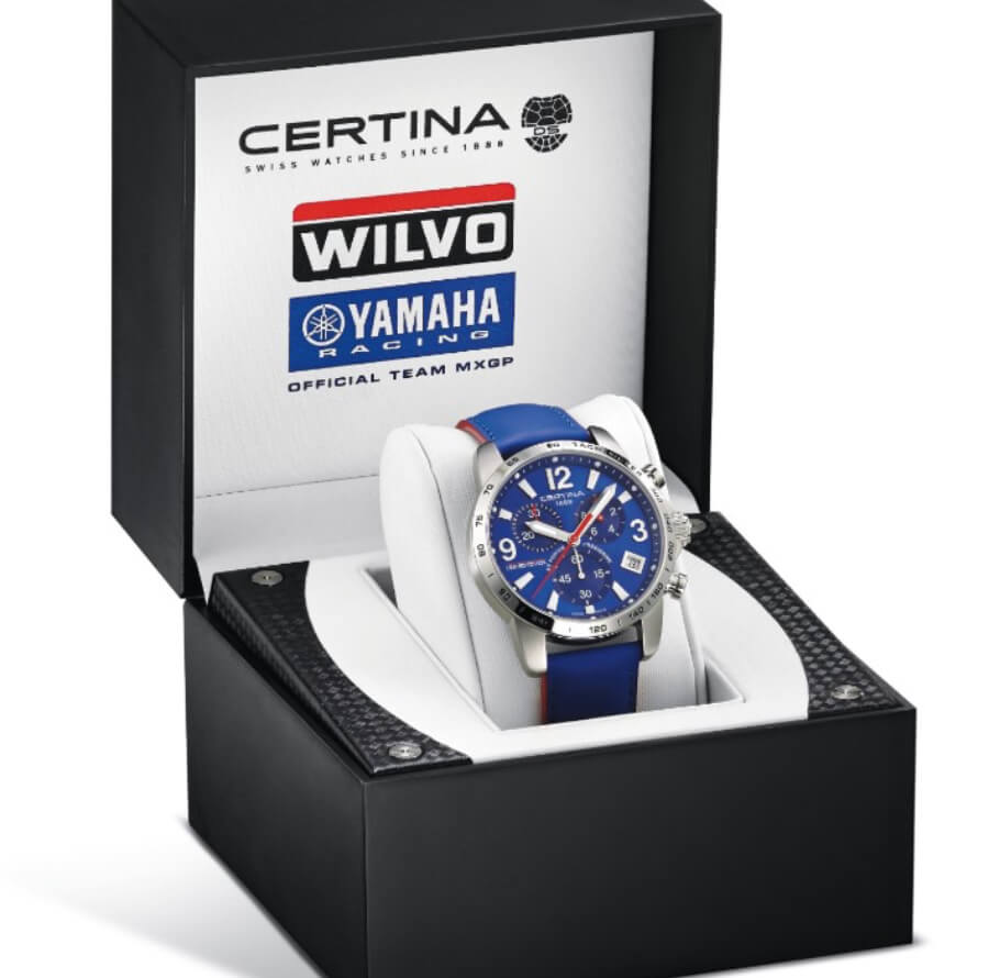 Certina DS Podium Chronograph 1/10 sec Wilvo Yamaha Limited Edition
