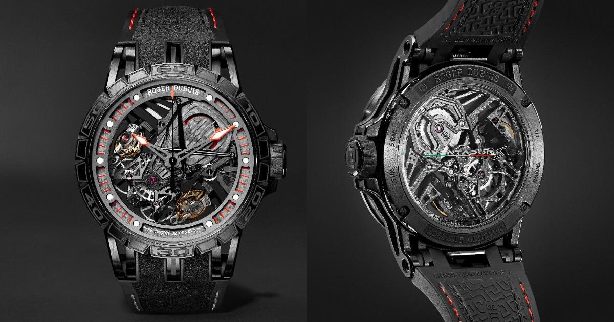 Roger Dubuis Excalibur Aventador S Timepiece Unique Piece