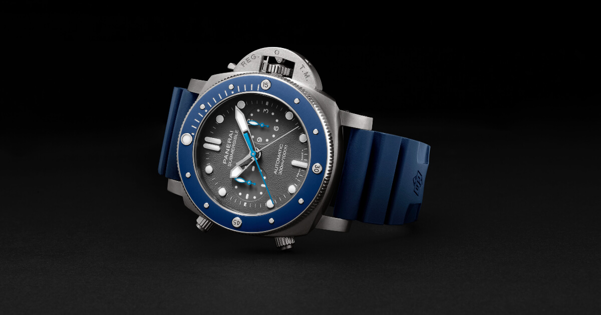 Panerai Submersible Chrono Guillaume Néry Edition (Pictures and Price)