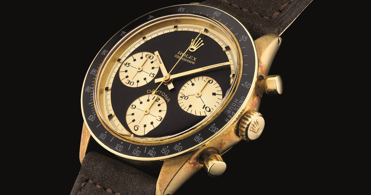"""A Rolex Ref. 6241 """"John Player Special"""" sold for US$779,580"""