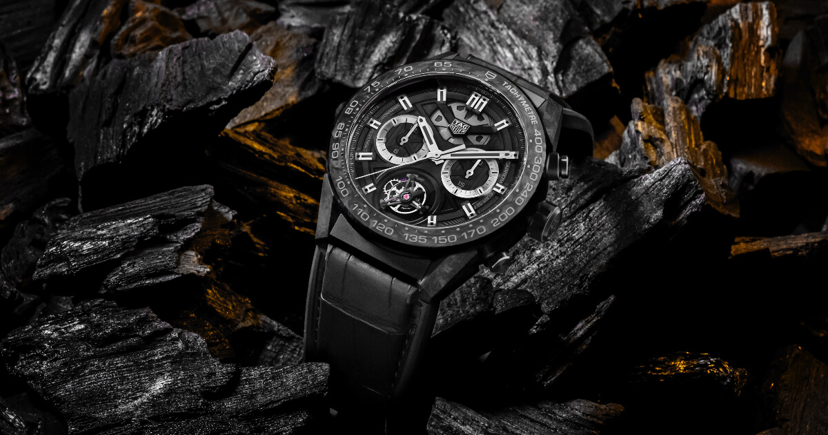 TAG Heuer Carrera Carbon and Carrera Carbon Tourbillon Phantom (Pictures and Prices)